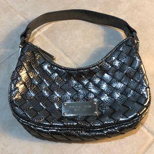 Michael Kors Silver Metallic Handbag